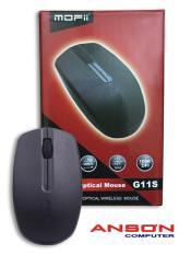 Chuột không dây Mofii G21S Wireless Black/Red