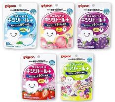 Kẹo ngậm chống sâu răng Pigeon nội địa Nhật gói 60vien