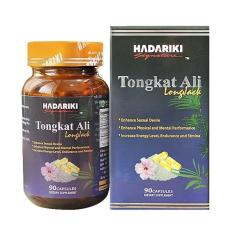 Hadariki Signature Tongkat Ali 500mg giúp tăng cường Testosterone nội sinh nam