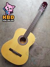 Đàn Guitar Classic KBĐ VE-70-C ( màu gỗ) Tặng 2 Picks gãy