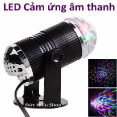 Đèn LED 7 màu vũ trường cảm ứng nhạc