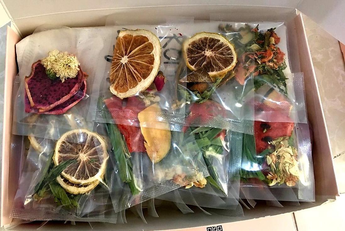 Set Detox liệu trình 30 ngày (30 gói) giảm cân - Không kèm bình và hộp