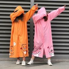 [Giá hủy diệt]Áo mưa chống nước gấu cute