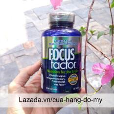 Thực phẩm Viên Uống Tăng Cường Chức Năng Não, Giảm Stress Focus Factor Mỹ – Thuốc bổ não 150V