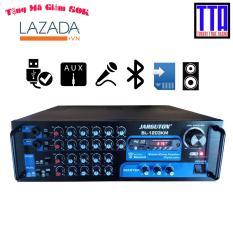Amply Bluetooth, USB, TF, FM, chạy 12 sò, công suất 300W