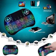 Bàn phím kiêm chuột bay UKB 500 FRO (Có đèn Led) dành cho Android TV box, Smart TV, Laptop