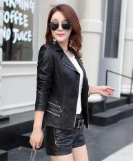Áo khoác da nữ cao cấp-Chất liệu da PU-Freesize dành cho nữ dưới 53kg(Tùy chiều cao)