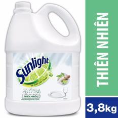 Nước rửa chén Sunlight Thiên nhiên can 3,8kg