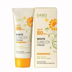 Nơi mua DABO Hàn Quốc Sunblock 70ml – Kem chống nắng và làm trắng