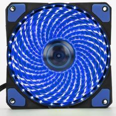 Fan Led 12cm Brushless fan 33 Led – Quạt Led 12cm màu xanh