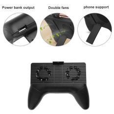 Tay cầm game cooling gamepad tản nhiệt cho điện thoại (Đen)