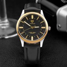 Đồng hồ nam dây da thời trang cao cấp Yazole Q02(Cập nhật 2019)