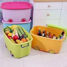 TO CHÀ BÁ – (LOẠI LỚN) -Thùng đựng đồ chơi có bánh xe – thùng đồ chơi bánh xe – thùng đựng đồ chơi đa năng có bánh xe – thùng đựng đồ tiện ích – thùng chứa đồ chơi cho bé yêu – nội thất – sắp xếp