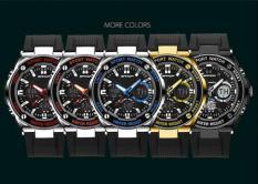 Đồng hồ nam dây cao su thời trang SANDA S2