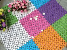 Bộ 20 tấm thảm nhựa chống trượt nhà tắm( 25*25cm )