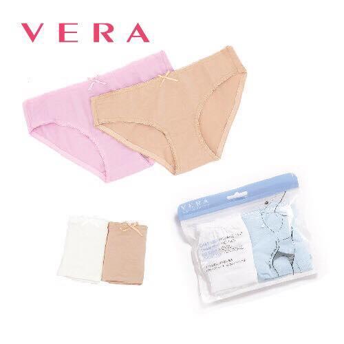Combo 03 túi quần lót Love Vera Cotton modern brief 7167 (Nhiều màu)