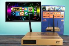 Android Tv box – Vinabox X2 Ram 1G Rom 8G biến TV thường thành smart TV – Bảo hành 12 tháng uy tín