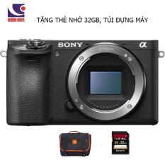 Máy ảnh Sony Alpha A6500/ILCE-6500 body TẶNG THẺ NHỚ 32GB, TÚI ĐỰNG MÁY – HÀNG CHÍNH HÃNG
