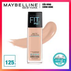 Kem nền mịn lì tiệp màu da Maybelline New York Fit Me! 125 Nude Beige 30ml