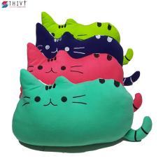 Gối Kê Cho Bé Đi Xe Máy Hình Mèo – Nhiều Màu Sắc – THIVI