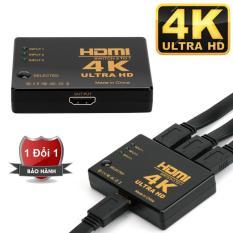 Switch HDMI 2.0 – 3 ngõ vào 1 ngõ ra cho tivi chuẩn 4K 2K chất lượng cao