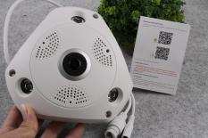 Camera Wifi VR 3D YooSee 360 Độ Xem Toàn Cảnh 1.3MP