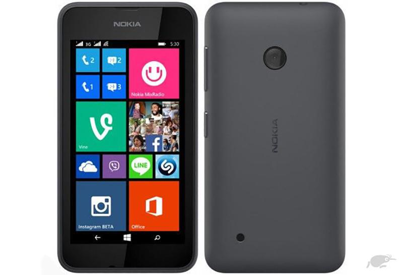 Nokia Lumia 530 Full Box Main zin Màn zin