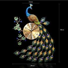 Đồng hồ chim công nghệ thuật 3D