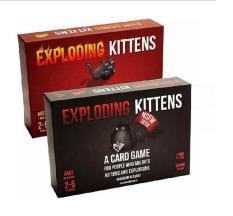 Combo 2 bản Mèo Nổ cơ bản Exploding Kittens – Mèo đỏ và Mèo đen