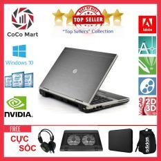 Laptop HP EliteBook 2560p Chạy CPU i7-2620M, 12.5inch, 4GB, HDD 250GB + Bộ Quà Tặng – Hàng Nhập Khẩu