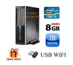 Cây máy tính để bàn HP 6200 Pro Sff (CPU i5 2400, Ram 8GB, HDD 1TB, DVD) + Tặng USB Wifi – Hàng Nhập Khẩu