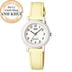 Đồng hồ nữ dây da Casio Anh Khuê LQ-139L-9BDF
