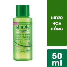 Nước hoa hồng Simple Soothing Facial 50ml
