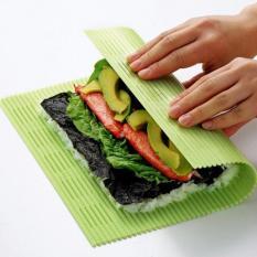 Mành cuộn Sushi,Kimbap,Bánh đa năng kèm thìa Niheshi