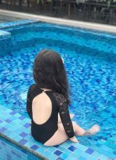 Đồ bơi liền tay dài phối ren cực sexy cho bé gái 12-31kg – Hàng VNXK