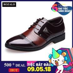 Giày da nam đế cao ROZALO RM8523