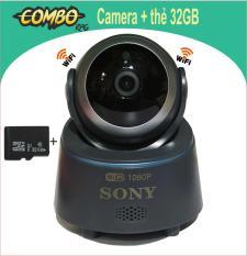 Camera Wifi Robot thông minh Sony – Full HD 1080P Kèm thẻ 32Gb