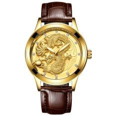 Đồng hồ thời trang nam dây da mặt rồng FNGEEN PKHRFNG001 – Ngọa hổ tàng long