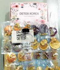 Set 30 goi Detox, tặng 1 bình nhựa Pongdang 1000ml kèm túi vải sành điệu