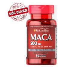 Viên uống tăng cường sinh lực Puritan's Pride Primium Maca Exotic Herb For Men 500mg 60 viên