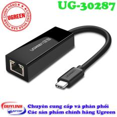 Cáp USB Type C to Lan tốc độ Megabit – Adapter USB C Ugreen