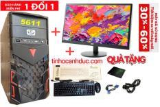 Bộ máy PC ADA1LE20 màn hình LED 20 inch Văn phòng TẶNG PHÍM CHUỘT MỚI