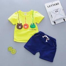 Bộ đồ cực cool cotton cho bé trai từ 1-5 tuổi