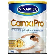 Sữa bột Vinamilk CanxiPro 900g (Hộp thiếc)