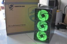 Máy chiến lol, cf G2130, RAM 4GB,Card GT 630, Case đầy đủ led như hình