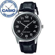 Đồng hồ nam dây da Casio Standard Anh Khuê MTP-V001L-1BUDF