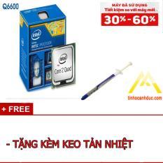 Bộ vi xử lý Intel CPU Core 2 Quad Q6600 4 lõi, 4 Luồng tặng KEO tản nhiệt