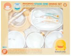 Bộ dụng cụ bước 1 (8 món) Piyo Piyo [Stage 1Training Table Set 8pc set]