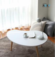 BÀN ĂN – BÀN PHÒNG KHÁCH HẠT ĐẬU MÀU TRẮNG – D TABLE WHITE – D테이블-우드