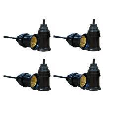 Bộ 8 đui đèn E27 kín nước